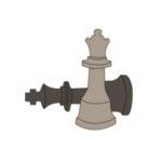 icone jeu d'échecs géant