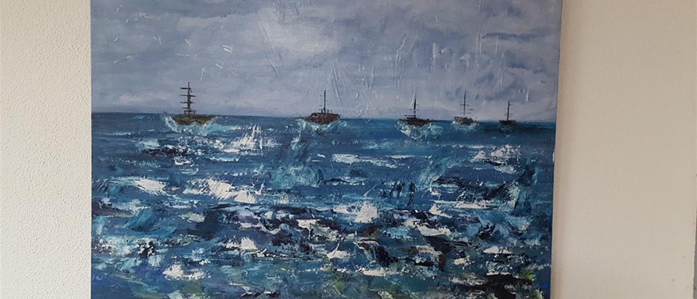 photo exposition de peinture