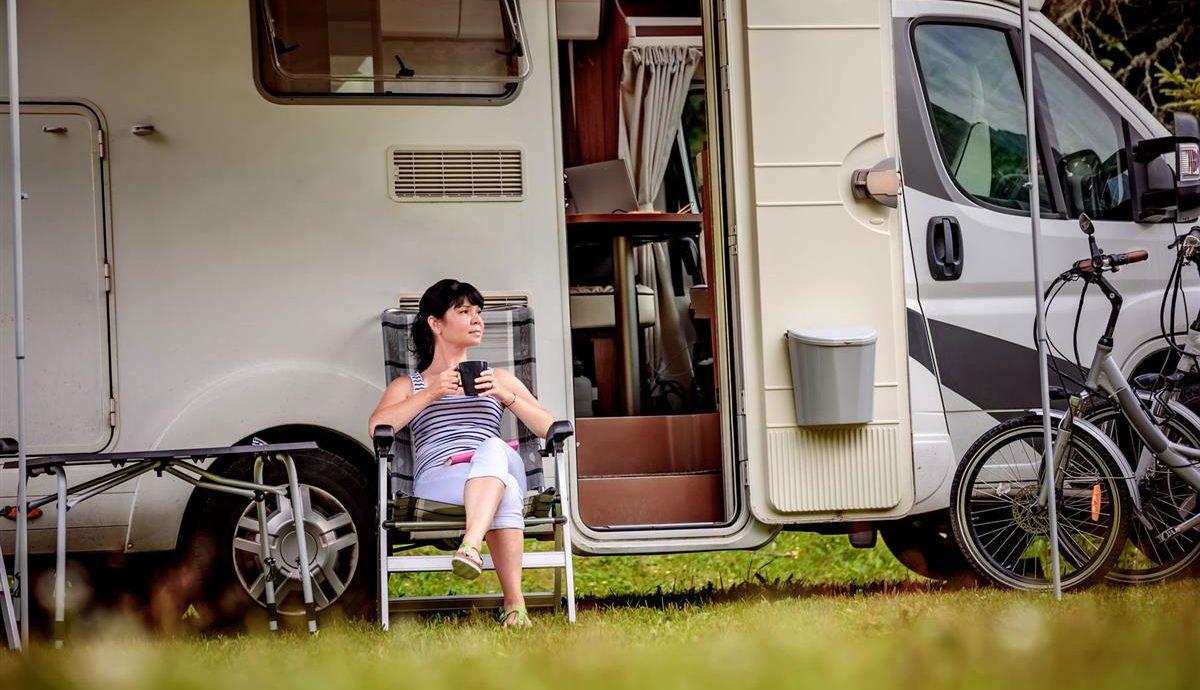 Photo représentant le camping-caravaning
