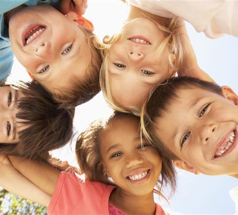 Photo groupe d'enfant