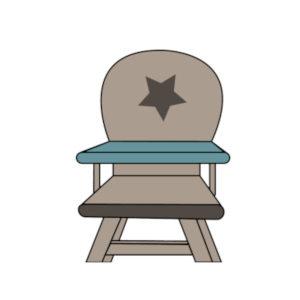 icone chaise haute