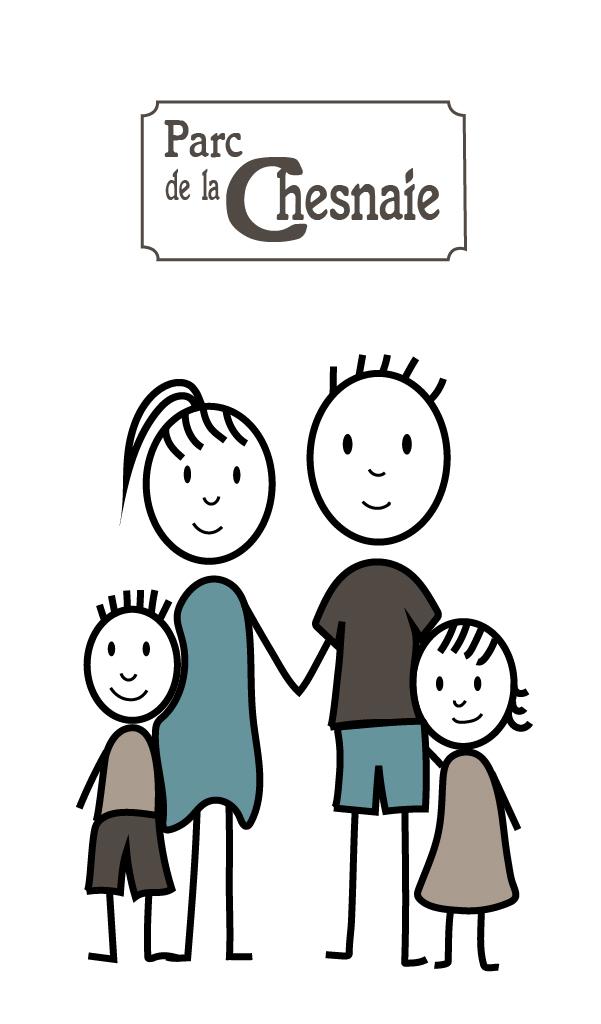 Icone famille au parc