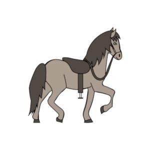icone randonnée à cheval