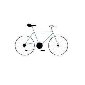 icone randonnée à vélo